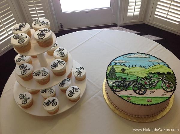 508, bike, landscape, green, hills, bicycle, bikes, portrait, scene, black, white, green, blue, nature