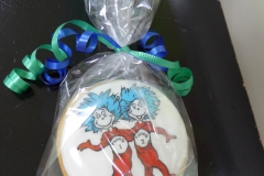 3186, cookies, dr seuss, round, thing 1 and thing 2, thing one and thing two