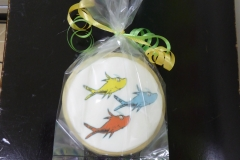 3188, cookies, dr seuss, round, one fish two fish red fish blue fish