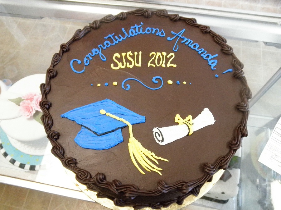 2896, brown, blue, cap, diploma, yellow, sjsu