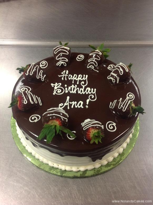 832, chocolate, glaze, brown, strawberries, white, piping, swirls