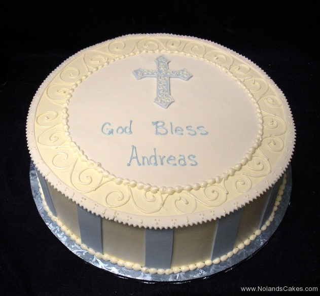 621, blue, stripes, boy, baby boy, first communion, white, communion, cross, simple
