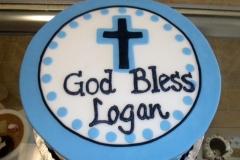 632, blue, stripes, boy, baby boy, first communion, white, communion, cross, simple, black
