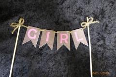 3357, banner, pink, brown